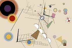 Experimento interativo sobre a obra de Wassily Kandinsky